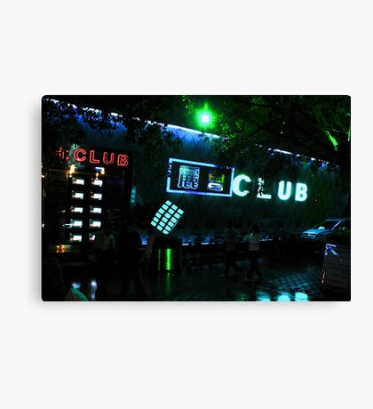CHINA OF THE LIGHT : The cube club Canvas Print