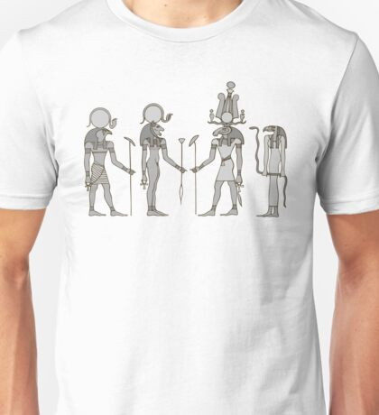 Gods of ancient Egypt Unisex T-Shirt