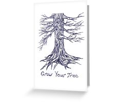 Grow Your Tree Greeting Card