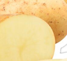 Cut potato Sticker