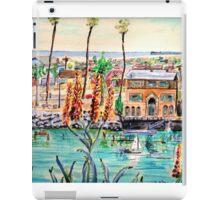 Newport Harbor CA. iPad Case/Skin