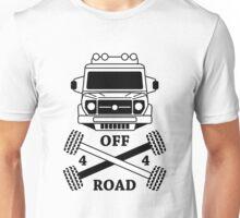 4x4 offroad logo car Unisex T-Shirt