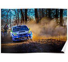 Travis Pastrana Subaru Rally Slide Poster