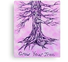 Grow Your Tree- Alternate Color Canvas Print