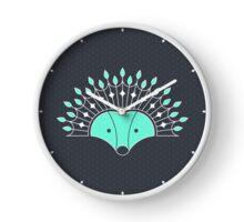 Hedgehog Fan Clock