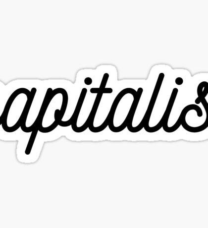 Capitalist pretty Sticker