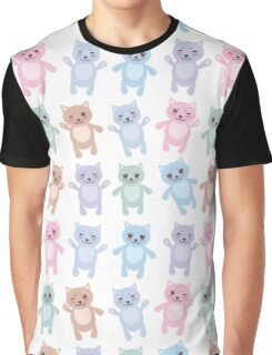 Funny Cats Graphic T-Shirt