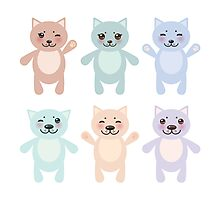 Funny Cats Photographic Print