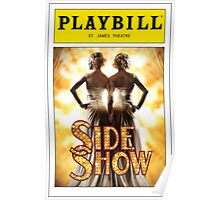 Side Show Playbill Poster
