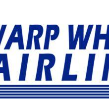 Warp Whistle Airlines Sticker