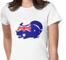 Australian Flag - Chinchilla Womens Fitted T-Shirt