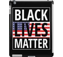 Black lives matter flag iPad Case/Skin