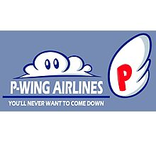 P-Wing Airlines Photographic Print