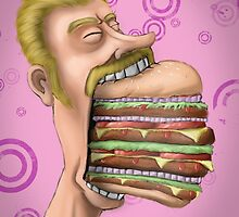 Burger Time! by Chris Savely