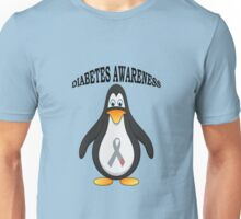 Big Boys Diabetes (Penguin) Youth black Unisex T-Shirt