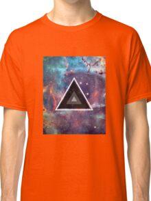 Geometric Galaxy Triangle Classic T-Shirt