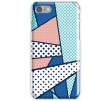 memphis style iPhone Case/Skin