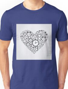 Hours heart Unisex T-Shirt