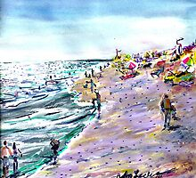 Quite Day at the Wedge by ArtbyLeclerc