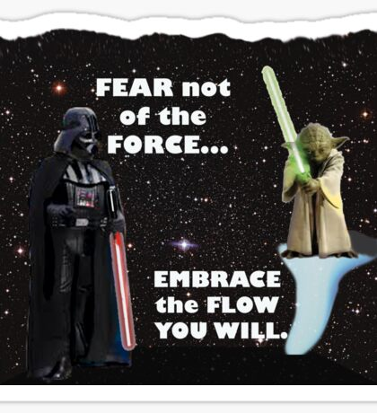 Way of the Force Sticker