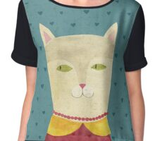 Dreaming cat Chiffon Top
