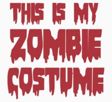 ZOMBIE COSTUME Kids Clothes