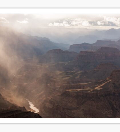 Clearing Storm, Grand Canyon National Park Sticker