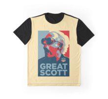 'Great Scott' (Obama style) Graphic T-Shirt