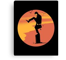 Silly Karate Canvas Print