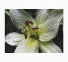 Sprarkling Raindrop Jewels On Beautiful Lily Kids Clothes