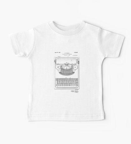Patent - Typewriter Baby Tee