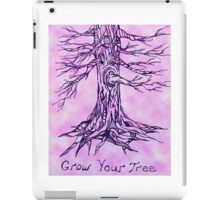 Grow Your Tree- Alternate Color iPad Case/Skin