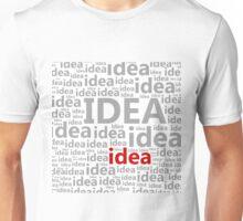 Idea a background Unisex T-Shirt