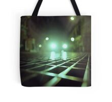 Grid city streets Hasselblad square medium format analogue film photograph Tote Bag