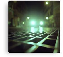 Grid city streets Hasselblad square medium format analogue film photograph Canvas Print