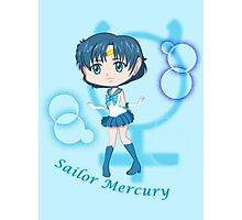Chibi Chibi Sailor Mercury Photographic Print