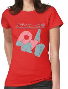 Vaporwave Pokemon Womens Fitted T-Shirt