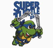 Super Turtle Bros - Leo One Piece - Short Sleeve