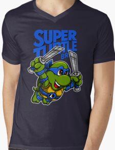 Super Turtle Bros - Leo Mens V-Neck T-Shirt