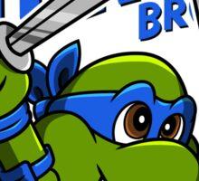 Super Turtle Bros - Leo Sticker