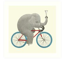Ride colour option Art Print