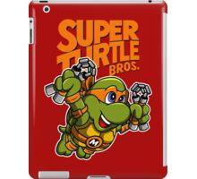 Super Turtle Bros - Mikey iPad Case/Skin