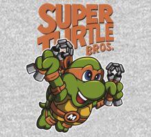 Super Turtle Bros - Mikey Kids Tee