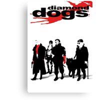 MGSV - Diamond Dogs Canvas Print