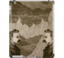 Nietzsche, Meet Nietzsche (In the Black Forest) iPad Case/Skin