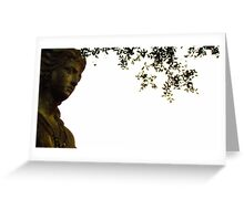 Aztec Goddess Under Tree Greeting Card