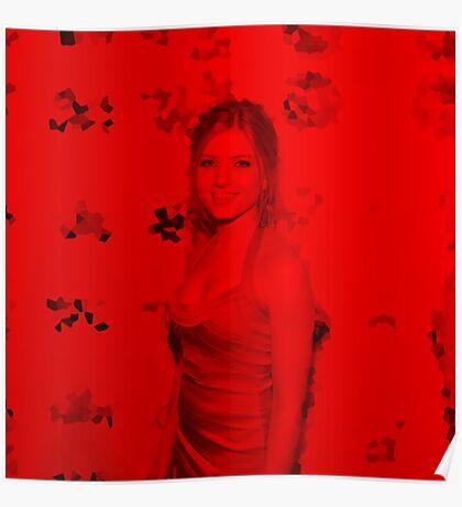 Clair Bidez - Celebrity (Square) Poster
