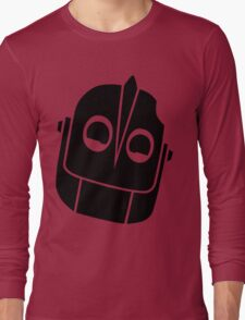 Smiling Iron Giant Vector Long Sleeve T-Shirt