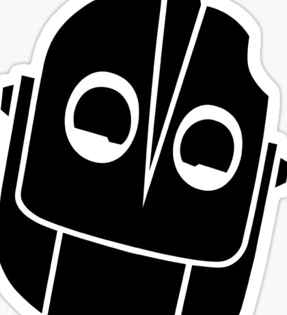 Smiling Iron Giant Vector Sticker