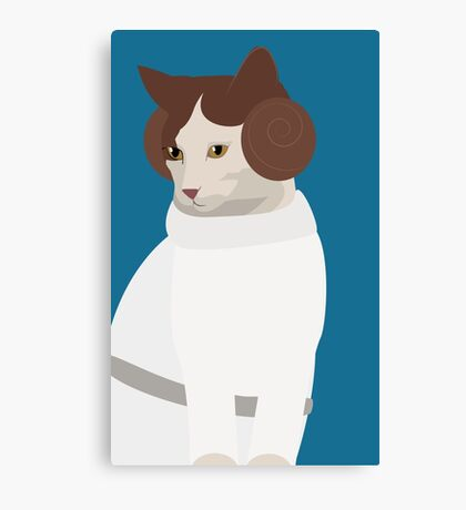 Princess Catwalker Canvas Print